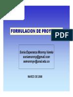 2 FORMULACION DE PROYECTOS