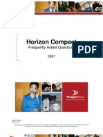 Horizon Compact FAQ