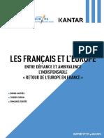 Les Français et l'Europe