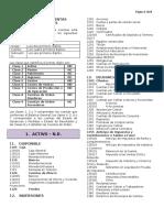 CENCABO - Plan Unico de Cuentas - P.U.C. - Simplificado