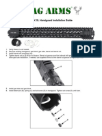 Stag Arms M-LOK SL Handguard Installation Guide