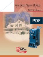 Utica PEG-C Gas Fired Steam Boilers Brochure