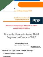 1. Conferencia Confipetrol Pilares Mantenimiento SMRP Versión 12 Abr 2019 (1) (1).pdf