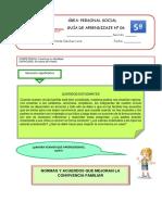 GUÍA DE APRENDIZAJE 6 PERSONAL SOCIAL