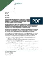 Letter to Premier Horgan