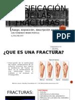 FRACTURAS TIPO ( Y LAS DE ANTEBRAZO)