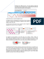 frecuencia en fibras opticas