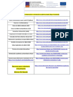 Recursos de información e orientación académica (web, blog e facebook)