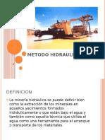 METODO HIDRAULICO
