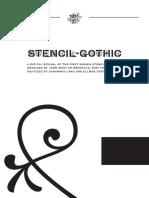 Stencil-Gothic-Specimen