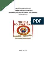 Milicia Bolivariana