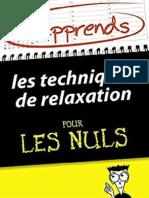 J&Apprends Les Techniques de Relaxation Pour Les Nuls2