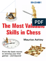 Maurice Ashley - The most Valuable skills in Chess