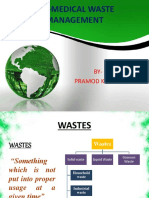 Bio-medical waste management ppt