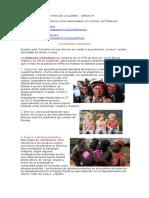 GUIA VIRTUAL 2 HISTORIA DE COLOMBIA .Población Colombiana 3°