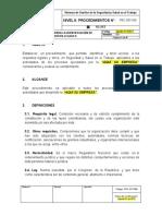PRC-SST-006 Procedimiento para la Identificación de Requisitos Legales