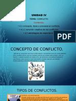 Concepto de conflicto