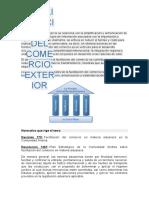 FACILITACION DE COMERCIO EXTERIOR