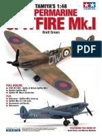 Tamiyas 1-48 Spitfire Mk.I