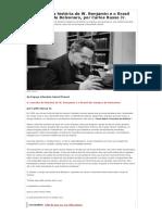 O conceito da história de W. Benjamin e o Brasil dos tempos de Bolsonaro, por Carlos Russo Jr. - GGN