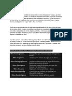 MITO DE LA LITERATURA PRECOLOMBIANA