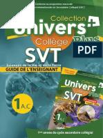 MP Guide L'Univers Plus SVT 1AC-1