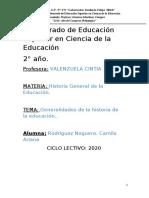 RODRIGUEZNOGUERA_TRABAJO 1_HISTORIA GENERAL DE LA EDUCACIÓN