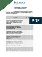 Buenas Practicas para Promover las Denuncias en las Organizaciones