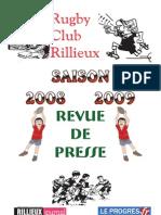 Revue de Presse 0809