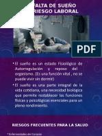 LA FALTA DE SUEÑO UN RIESGO LABORAL (1).pptx