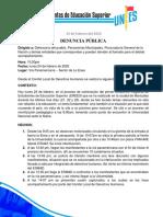 DENUNCIA 24 DE FEBRERO