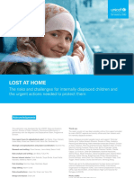 Lost at Home Risks and Challenges for IDP Children English 2020