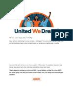 UWD - Calling Our DMV Members!
