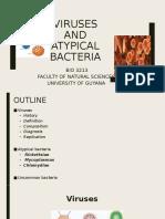 Week 7 - Viruses  and Atypical bacteria - Copy