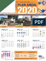 Calendario Anual 2019-2020 de la UNAM