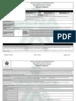 Reporte Proyecto Formativo - 1263941 - DISENAR, DESARROLLAR, CONSTRUI