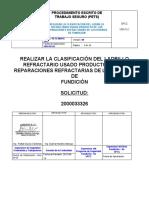 PROCEDIMIENTO -  CLASIFICACION DE LADRILLO.doc