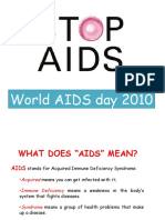 AIDS World Day 2010