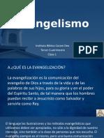 Evangelismo clase 1 - 9