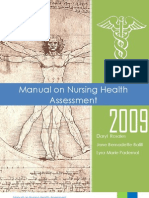 Manual on Nursing Health Assessment