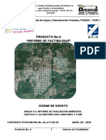 Informe Factibilidad Proyecto Alcantarillado Sanitario de la ciudad de Somoto