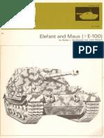 AFV Weapons Profile 61 Elefant and Maus+E100