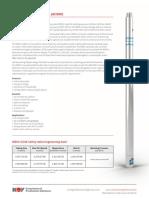 WRSV 5 10E Safety Valve Data Sheet