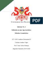 Informe No 1 AE2