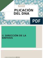 Tema 11- Replicación del DNA