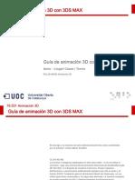 Guía de animación 3D con 3DS MAX