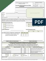Solicitud para Certificación de Factores Salariales
