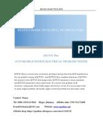 BST501 Plus automobile engine electrical problem tester