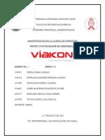 Equipo 1 - PIA-Viakon