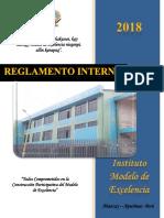 reglam interno 2018 ABANCAY